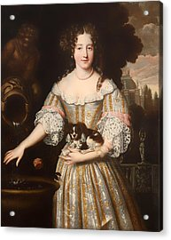 Louis De Keroulle - Duchess Of Portsmouth Acrylic Print by Mountain Dreams