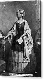 Louise Of Orleans (1812-1850) Acrylic Print by Granger