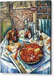 Louisiana Saturday Night Acrylic Print by Dianne Parks