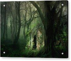 Love Affair With A Forest Acrylic Print by Georgiana Romanovna