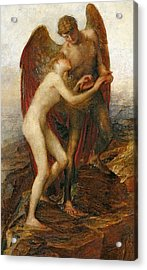 Love And Life Acrylic Print by George Frederick Watts