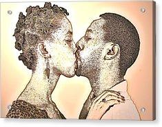 Love At First Sight Acrylic Print by Tony Ashley
