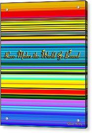 Love Acrylic Print by Chuck Staley