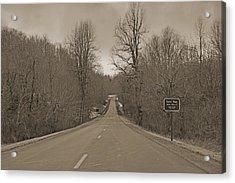 Love Gap Blue Ridge Parkway Acrylic Print by Betsy Knapp