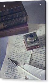 Love Letter Acrylic Print by Joana Kruse