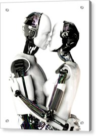 Love Machines - 1st Base Acrylic Print by Frederico Borges