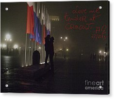 Love Me Tender - Power Of Love At Cracow . Acrylic Print by  Andrzej Goszcz