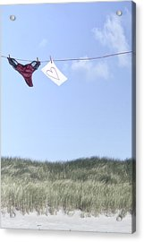 Love Message From Cloud 9 Acrylic Print by Joana Kruse