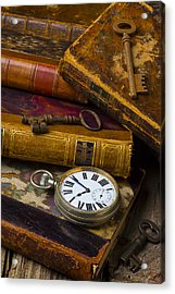 Love Old Books Acrylic Print by Garry Gay