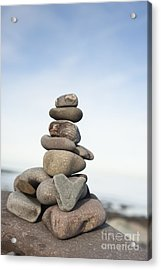 Love On The Rocks Acrylic Print by Anne Gilbert