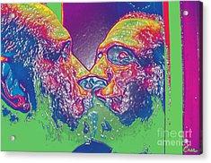 Love Self Evident Aka Portrait Of Flap Jack Stevens Acrylic Print by Feile Case