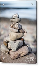 Love Stack Acrylic Print by Anne Gilbert