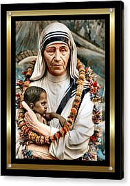 Love To The Rescue 2 Acrylic Print by Karen Showell