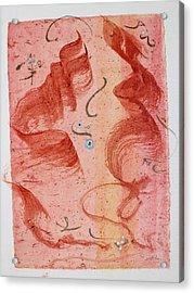 Lovers Dancing Acrylic Print by Asha Carolyn Young