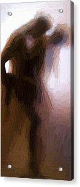 Lovers Acrylic Print by Stefan Kuhn