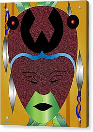 Lovey Mother Of Creation Acrylic Print by Charles Smith