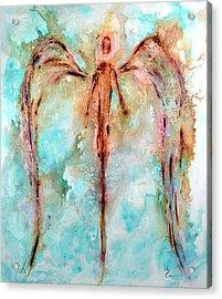 Loving Guardian Acrylic Print by Ivan Guaderrama
