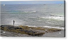 Loving The Sea Life Acrylic Print by Betsy Knapp