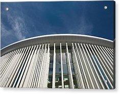 Low Angle View Of A Concert Hall Acrylic Print by Panoramic Images