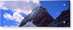 Low Angle View Of A Mountain Peak, Mt Acrylic Print by Panoramic Images