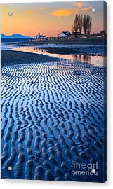 Low Tide In Seattle Acrylic Print by Inge Johnsson