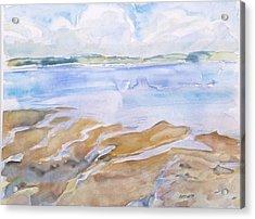 Low Tide - Penobscot Bay Acrylic Print by Grace Keown