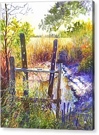 Lowcountry Legacy Acrylic Print by Alice Grimsley