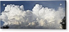Lubbock Cloud Formation Acrylic Print by James W Johnson