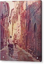 Lucca Acrylic Print by Jenny Armitage