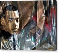 Luke Acrylic Print by Sarah Loft