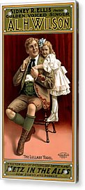 Lullaby Yodel Acrylic Print by Terry Reynoldson