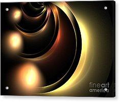 Lunar Acrylic Print by Kim Sy Ok