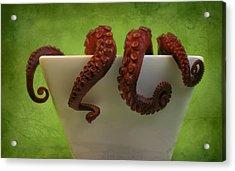 Lunch Acrylic Print by Karen Walzer