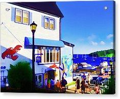 Lunenburg Vista View Acrylic Print by Patricia L Davidson