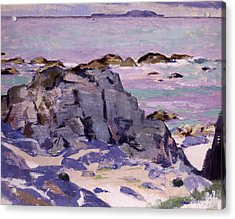 Lunga From Above Mermaids Acrylic Print by Francis Campbell Boileau Cadell