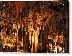 Luray Caverns - 1212102 Acrylic Print by DC Photographer