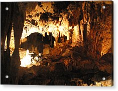 Luray Caverns - 1212162 Acrylic Print by DC Photographer