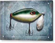 Lure I Acrylic Print by April Moen