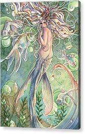 Lusinga Acrylic Print by Sara Burrier