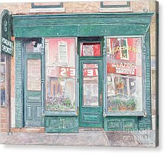 M Goldberg Glazing Court St Brooklyn New York Acrylic Print by Anthony Butera