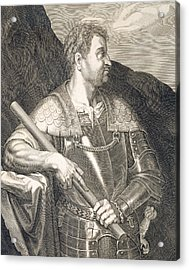 M Silvius Otho Emperor Of Rome Acrylic Print by Titian