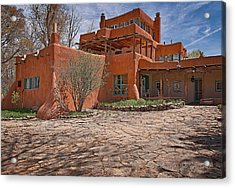 Mabel Dodge Luhan House  Acrylic Print by Charles Muhle