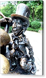 Mad Hatter Acrylic Print by Debra Forand