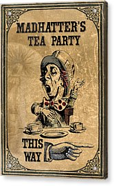 Mad Hatters Tea Party Acrylic Print by Greg Sharpe