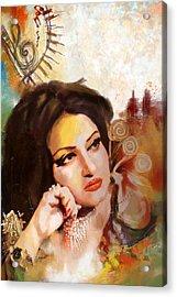 Madam Noor Jehan Acrylic Print by Catf