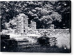 Madame Sherri Castle Ruins Acrylic Print by David Fiske