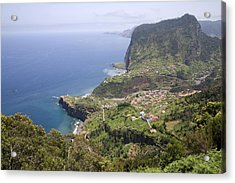 Madeira Portugal Acrylic Print by Jim  Wallace