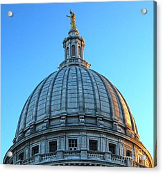 Madison Wisconsin Capitol Building - 03 Acrylic Print by Gregory Dyer