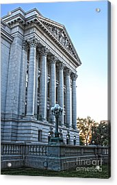 Madison Wisconsin Capitol Building - 05 Acrylic Print by Gregory Dyer