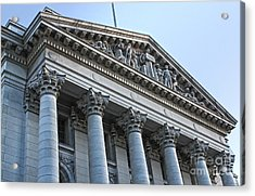 Madison Wisconsin Capitol Building - 06 Acrylic Print by Gregory Dyer